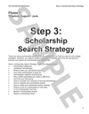 Step 3: Scholarship Search Strategy
